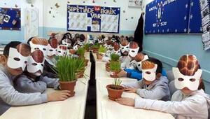 Küçük öğrencilerinden Sepetimde ekmek var projesi