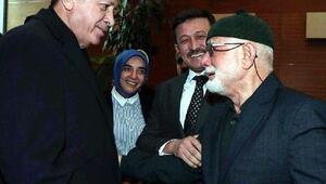 Cumhurbaşkanı Erdoğanı gördü ama duygulanıp ağlayınca konuşamadı