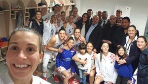 Mersin Büyükşehir Belediyespordan 64 sayı fark