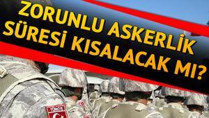 Askerlik süresi yeni yılda düşecek mi Tep tip askerlikte son gelişmeler