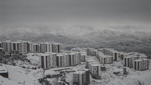 Şırnak'ta kar nedeniyle 2 ilçede eğiteme ara verildi, 24 köy yolu kapalı
