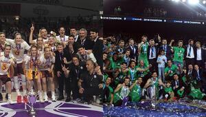 Türkiye basketbolu adına 2018de 2 kupa