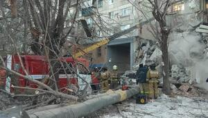 Rusya'daki doğal gaz patlamasında mucize gerçekleşti