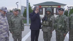 Bakan Akar açıkladı: DEAŞ mücadelesinde TSK görev aldı, önümüzdeki günlerde yerine getireceğiz