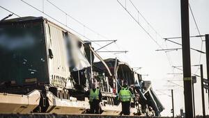 Son dakika... Danimarkada tren kazası