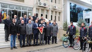 5 Ocak için Türk Bayrağı Pozantıdan yola çıktı