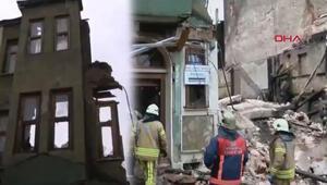 Son dakika: Yedikulede bina çöktü: iki kişinin cesedi çıkarıldı