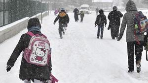 Yarın okullar tatil mi İşte kar tatili yaşayacak olan iller