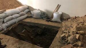 İstanbulda inanılmaz tarihi eser kaçakçılığı Apartmanın altını kazmışlar