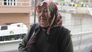 Kanser hastası kadın hırsızlara ağlayarak seslendi