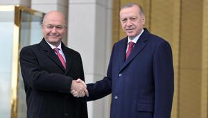 Son dakika... Irak Cumhurbaşkanı Salih Ankarada