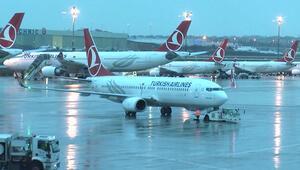 Hava koşulları nedeniyle bazı uçak seferleri iptal edildi