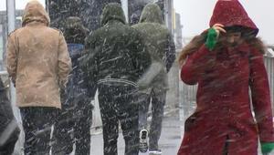 Kar şiddetini arttırdı İstanbula uyarı geldi...
