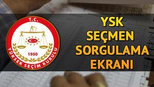 YSK seçmen kaydı sorgulama nasıl yapılır Seçmen listeleri askıya çıktı