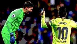 Messi attı, Alisson tuttu