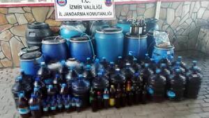 İzmirde sahte şarap operasyonu: 4 gözaltı