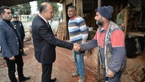 İl Emniyet Müdürü Aktaş, Dağlıoğlu Mahallesi'nde vatandaşlarla buluştuı