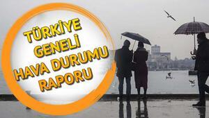 İstanbulda hafta sonu hava durumu nasıl olacak Meteorolojiden kar yağışı uyarısı