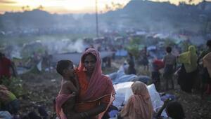 Hindistana Arakanlı Müslümanlarla tepkisi