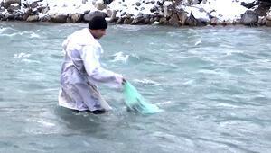 Eksi 10 derecede balık avı