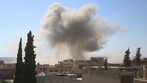 Suriyede hava saldırısı: 3 ölü, 9 yaralı