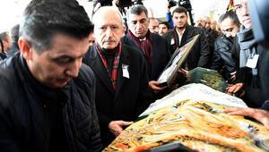 Kılıçdaroğlu, Gürsel Erolun annesinin cenazesine katıldı
