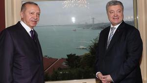 Cumhurbaşkanı Erdoğan, Ukrayna Devlet Başkanıyla görüştü