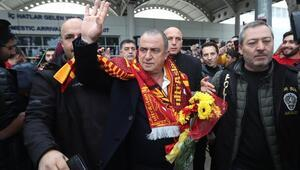 Galatasaray kafilesi Antalyada