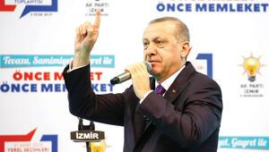 Erdoğan: CHP rüşvet yolsuzluk çöp demek