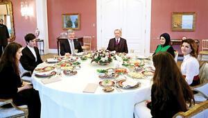 Vahdettin Köşkü'nde kahvaltı