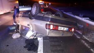 Tosyada 3 ayrı trafik kazasında 5 kişi yaralandı