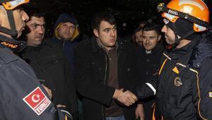 Ankarada mahsur kaldılar... AFAD kurtardı