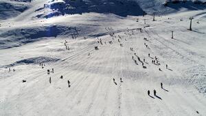Saklıkentin beyazından Akdenizin mavisine kış triatlonu