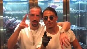 Nusrete gitmenin sonu ceza oldu Ribery...