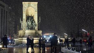 Son dakika: İstanbulda kar etkisini gösterdi... Daha da yoğunlaşacak