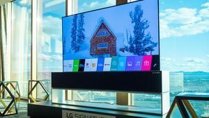 LGnin ekranı katlanabilen televizyonu satışa çıkıyor