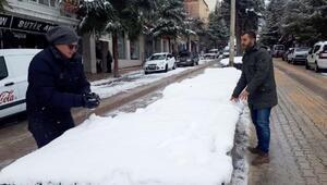 Antalyada 2 ilçede eğitime kar engeli