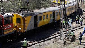 Son dakika... Güney Afrikada tren kazası