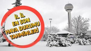 Son dakika hava durumu tahminleri | İstanbul Ankara İzmir güncel hava durumu