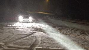 Şavşat-Ardahan yolu kar ve tipiden kapandı