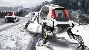 Hyundai bu kez yürüyebilen otomobil yaptı