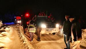 Donma tehlikesi atlatan 2 belediye personelini köylü kurtardı