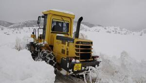 Nazımiyede kar 2 metreye aştı, Belediye Başkanı yardım istedi