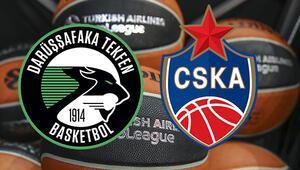 Darüşşafaka Tekfen CSKA Moskova Euroleague maçı bu akşam saat kaçta hangi kanalda canlı yayınlanacak