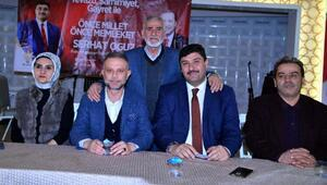 Başkan Ertürk ve Başkan Adayı Oğuz vatandaşlarla buluştu