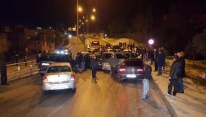 Samsunda buzlanma nedeniyle 14 araç birbirine girdi: 4 yaralı