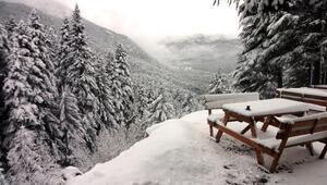 Aksekide kış manzaraları