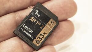 Dünyada bir ilk: 1 TB kapasiteli SDXC hafıza kartı
