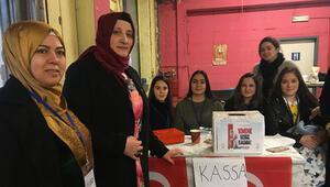 Belçikadaki Türk kadınlardan Yemene yardım kahvaltısı