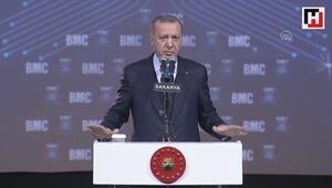 Erdoğan, BMC Power İlk Yerli ve Milli Motor Çalıştırma Ortak Töreni'nde konuştu